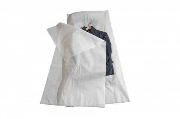 Kleidersäcke - 10 Stück - aus hochwertigem weichem Vliesstoff 900 x 1.500mm