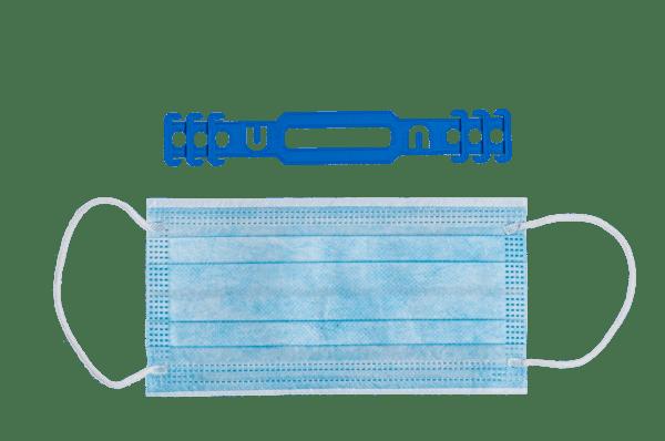 Ohrentlastung - Nacken Masken Verschluss - 500 Stück